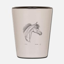 Yearling Horse Shot Glass