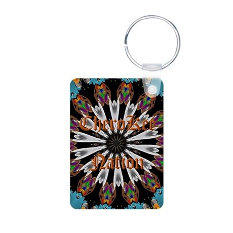 Cherokee Nations Aluminum Photo Keychain