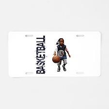 Cute Streetball Aluminum License Plate