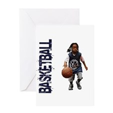 Funny Streetball Greeting Card
