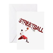 Streetball Greeting Card