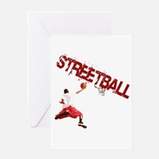 Cool Streetball Greeting Card