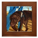 Guide Dog Jack - Framed Tile