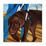 Guide Dog Jack - Tile Coaster