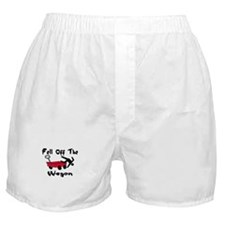 Fell Off The Wagon Boxer Shorts