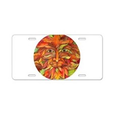 Autumn Greenman Aluminum License Plate