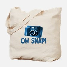 Oh Snap Camera Tote Bag
