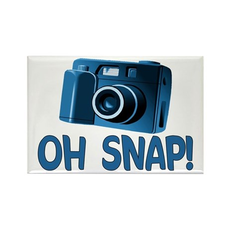 Oh Snap Camera Rectangle Magnet (100 pack)