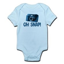 Oh Snap Camera Infant Bodysuit