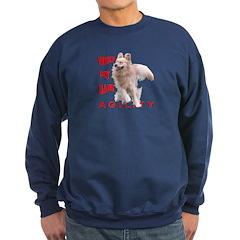 Golden Retriever Agility 'Whip' Sweatshirt