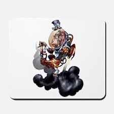 Steampunk Space-Chimp Mousepad