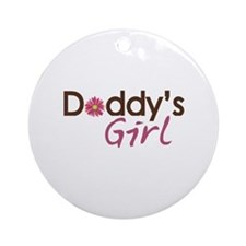 Daddy's Girl Ornament (Round)