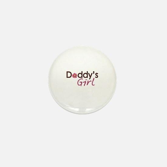 Daddy's Girl Mini Button