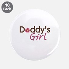 """Daddy's Girl 3.5"""" Button (10 pack)"""