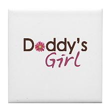Daddy's Girl Tile Coaster