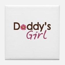 Daddy's Girl Tile Coaster