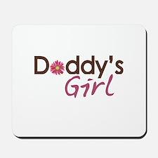 Daddy's Girl Mousepad