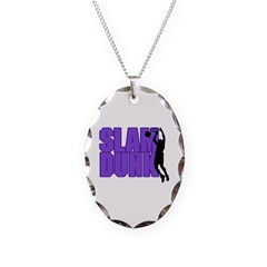 Slam Dunk Basketball Necklace
