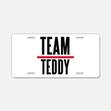 Team Teddy Grey's Anatomy Aluminum License Plate