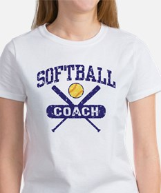Softball Coach Women's T-Shirt