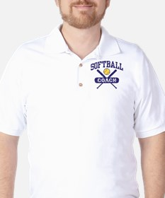 Softball Coach Golf Shirt
