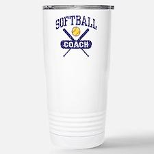 Softball Coach Travel Mug