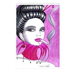 Smokin Pink 1 Postcards (Package of 8)