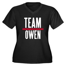 Team Owen Grey's Anatomy Women's Plus Size V-Neck