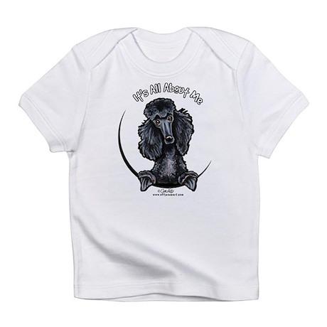 Black Standard Poodle IAAM Infant T-Shirt