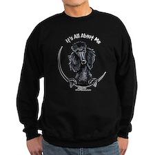 Black Standard Poodle IAAM Sweatshirt