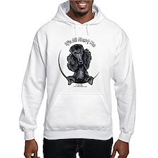 Black Standard Poodle IAAM Jumper Hoody