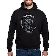 Black Standard Poodle IAAM Hoodie