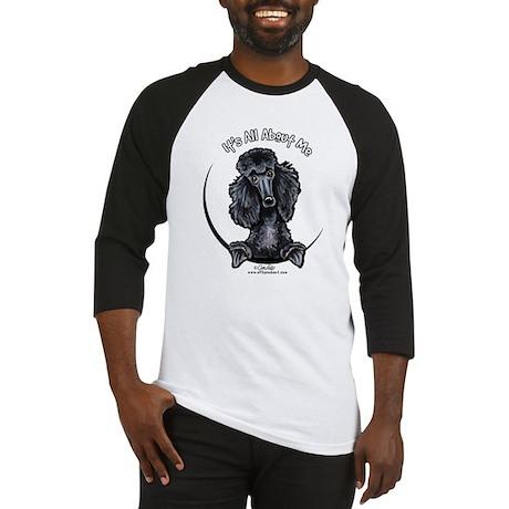 Black Standard Poodle IAAM Baseball Jersey