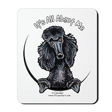Black Standard Poodle IAAM Mousepad