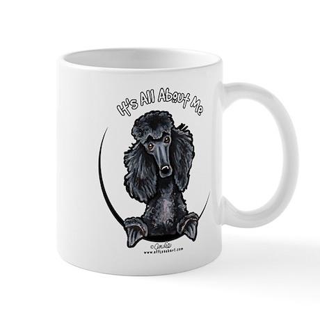 Black Standard Poodle IAAM Mug