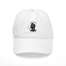 Black Standard Poodle IAAM Baseball Cap
