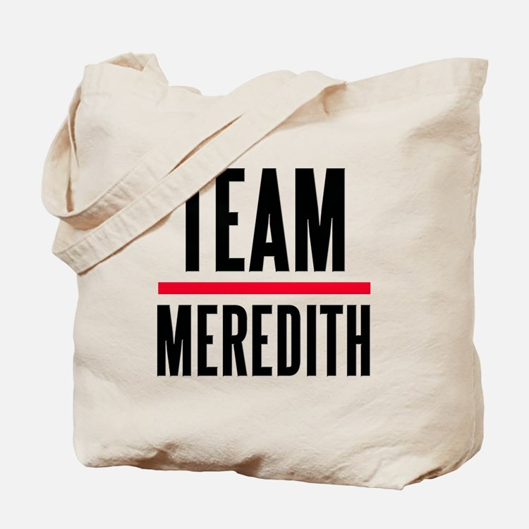 Team Meredith Grey's Anatomy Tote Bag