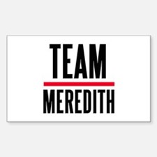 Team Meredith Grey's Anatomy Decal