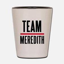 Team Meredith Grey's Anatomy Shot Glass