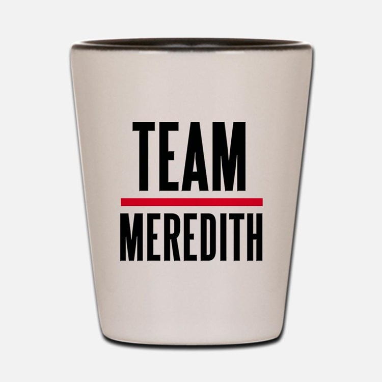 Team Meredith Grey's Anatomy Shot Glass