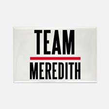 Team Meredith Grey's Anatomy Rectangle Magnet