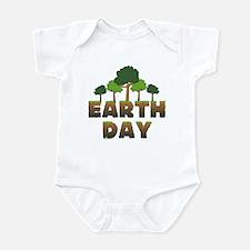Earth Day Trees Infant Bodysuit