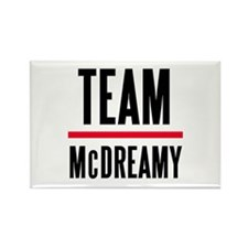Team McDreamy Grey's Anatomy Rectangle Magnet