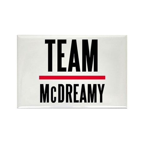 Team McDreamy Grey's Anatomy Rectangle Magnet