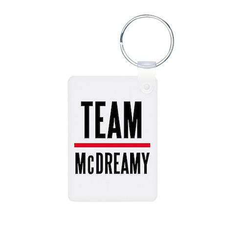 Team McDreamy Grey's Anatomy Aluminum Photo Keycha