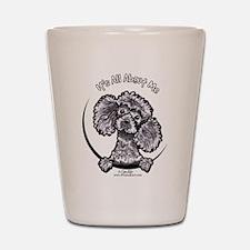 Gray Poodle IAAM Shot Glass