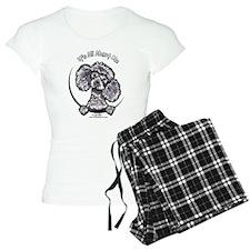 Gray Poodle IAAM Pajamas