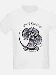Gray Poodle IAAM T-Shirt