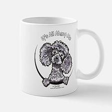 Gray Poodle IAAM Small Small Mug