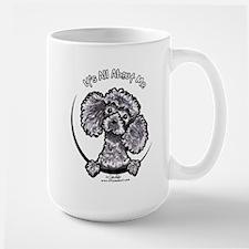 Gray Poodle IAAM Mug
